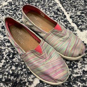 Toms Youth 3.5 Multicolor stripe classics